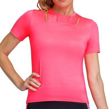 Tail Electric Motion Miesha Crewneck Top Womens Electric Pink TC2803 0381