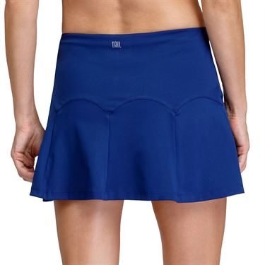 Tail Zebra Safari Anaka Flounce 14.5 inch Skirt Womens Blue Depths TD6023 1621