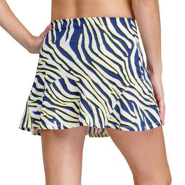 Tail Zebra Safari Kimberley Hem Flounce 13.5 inch Skirt Womens Lemon Zebra TD6988 M521