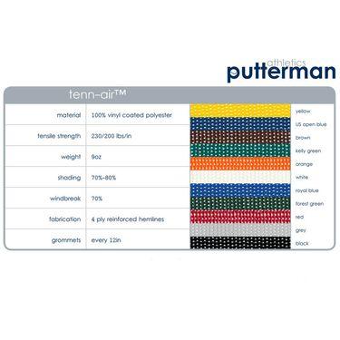 Putterman Tenn Air Windscreen (6 ft x 60 ft)