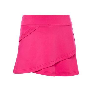 Fila Core Girls Performance Tiered Skirt Bright Pink TG018397 966