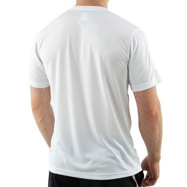 Fila Essentials Piped Crew Shirt Mens White TM016426 100