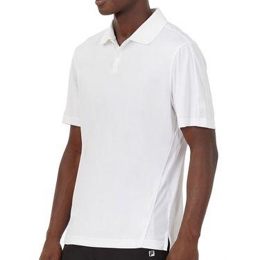 Fila Essentials Piped Polo Mens White TM016429 103