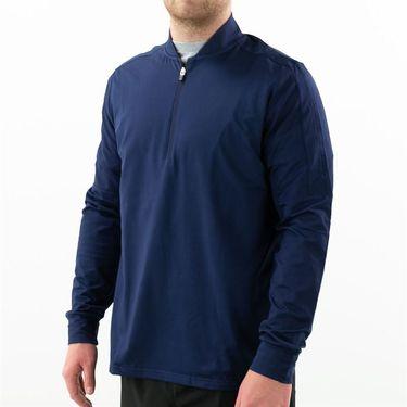 Fila Essentials 1/4 Zip Jacket Mens Peacoat TM016474 412