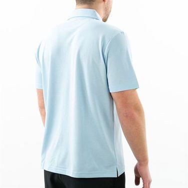 Fila Essentials Pique Polo Mens Angel Falls Light Blue TM016931 423