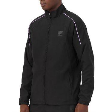 Fila Adrenaline Performance Tennis Jacket Mens Black/Lavender TM036852 001