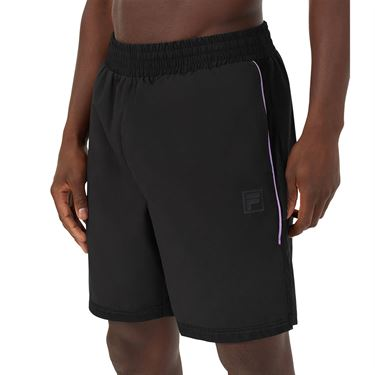 Fila Adrenaline Performance Tennis Short Mens Black/Lavender TM036854 001