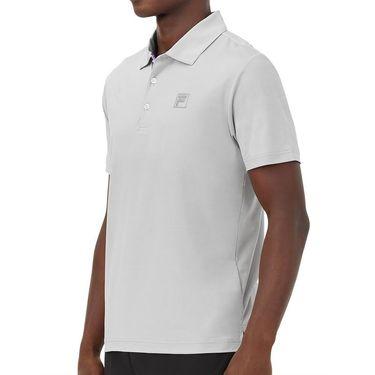 Fila Adrenaline Performance Melange Polo Shirt Mens High Rise/Lavender TM036856 535