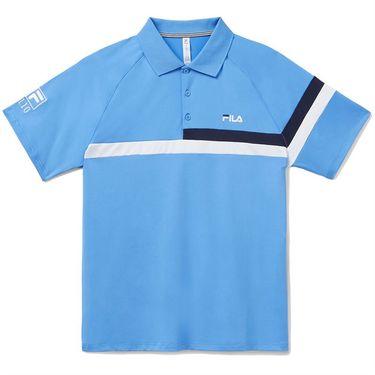 Fila 110 Year Polo Shirt Mens Navy/Marina/White TM13B177 450
