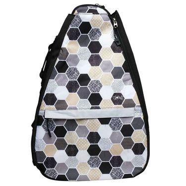 Glove It Tennis Backpack - Hexy Black/Tan