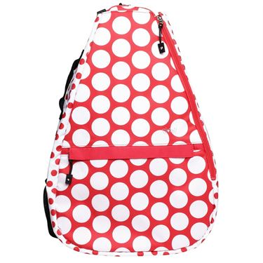 Glove It Tennis Backpack - Ta Dot/Red