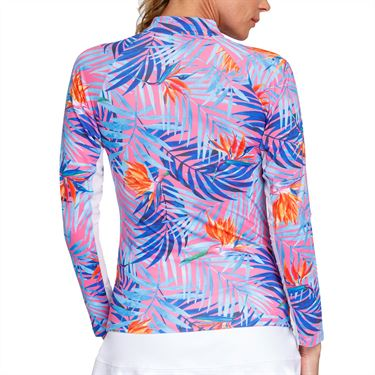 Tail Sunshine Long Sleeve 3/4 Zip Top Womens Paraiso TS2815 L741