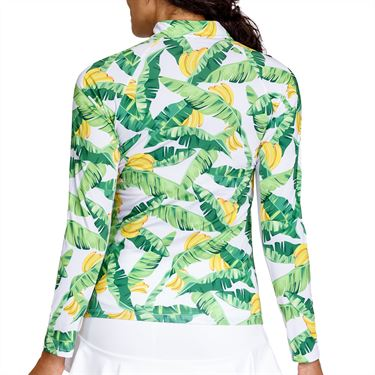 Tail Sunshine Long Sleeve 3/4 Zip Top Womens Bananarama TS2815 L771