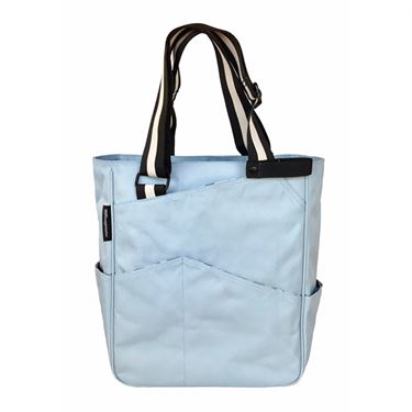 Maggie Mather Tennis Tote Bag - Sky Blue