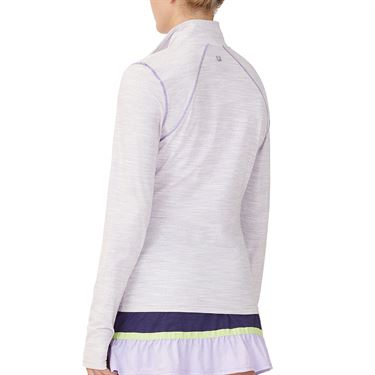 Fila Back Court Jacket Womens White/Purple TW036893 532
