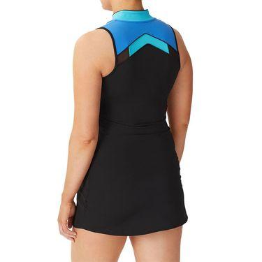 Fila Celestia Point Dress Womens Black/Celestial Blue/Turquoise TW036898 001