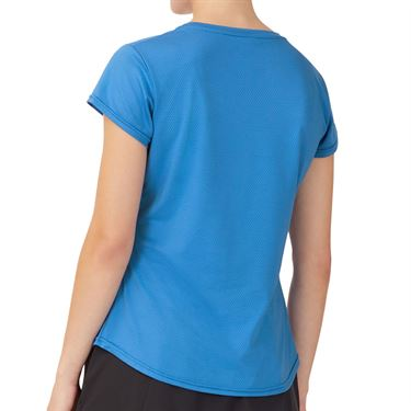 Fila Essentials Short Sleeve Top Womens Celestial Blue TW036912 430