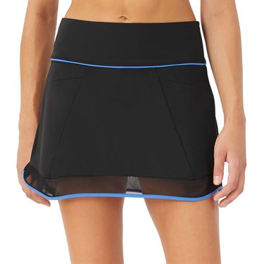 Fila Celestia Point 14.5 inch Shirt Womens Black/Celestial Blue TW036922 001