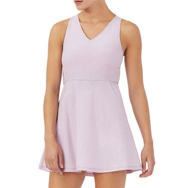 Fila Tie Breaker Dress Womens Lavender Frost/Rouge Red TW118287 520