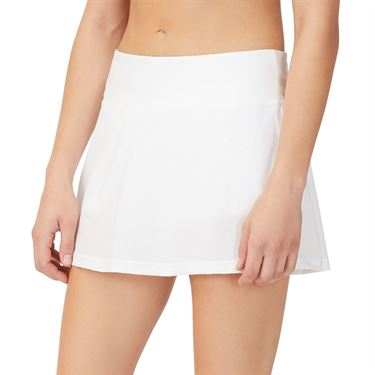 Fila Tie Breaker 13.5 inch Skater Skirt Womens White/Glacier Gray TW118289 100