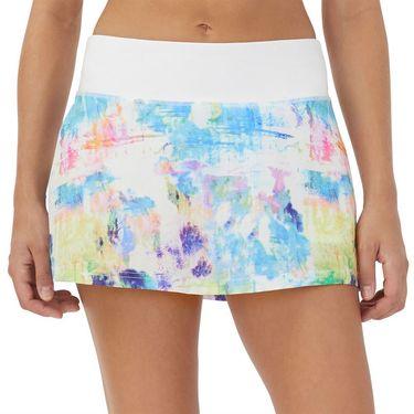 Fila Tie Breaker 13.5 inch Skater Skirt Womens Tie Dye Print/White TW118289 101