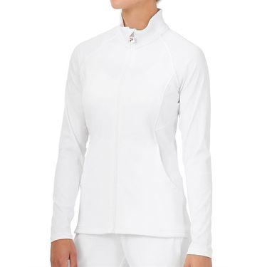 Fila White Line Jacket Womens White TW118719 100