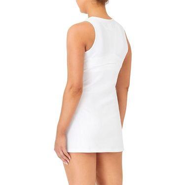 Fila White Line Dress Womens White TW118745 100