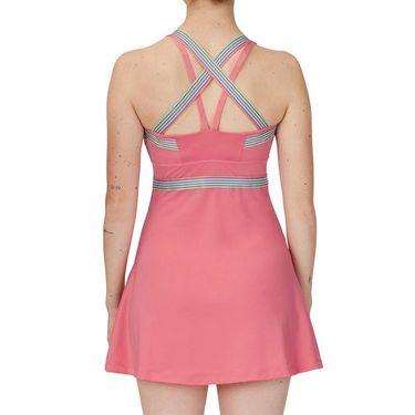 Fila Cross Court Cross Back Dress Womens Tea Rose TW118784 654