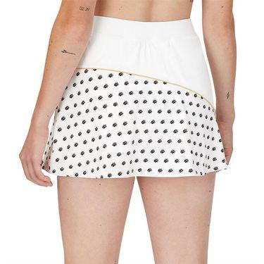Fila Wild Card Flirt Skirt Womens White/Rattan/Dusk Blue TW13A585 100