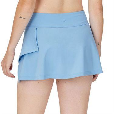 Fila Wild Card 12.5 Inch Side Wrap Skirt Womens Dusk Blue/Rattan/White TW13A586 437