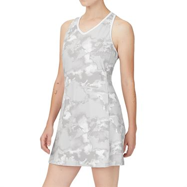 Fila Deuce Court Printed Dress Womens White/Multi Print TW13A887 108
