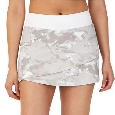 Fila Deuce Court Tiered Skirt Womens White/Multi Print TW13A888 108