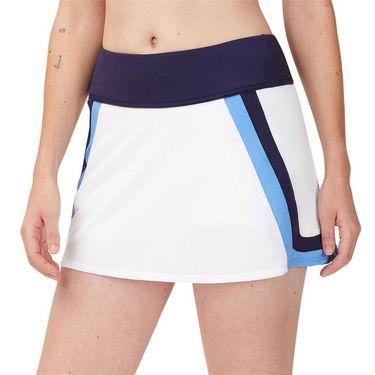 Fila 110 Year A Line Skirt Womens White/Navy/Marina TW13B171 100
