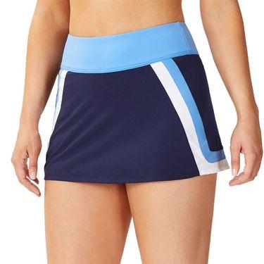 Fila 110 Year A Line Skirt Womens Navy/White/Marina TW13B171 412