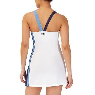 Fila 110 Year Dress Womens White/Navy/Marina TW13B172 100