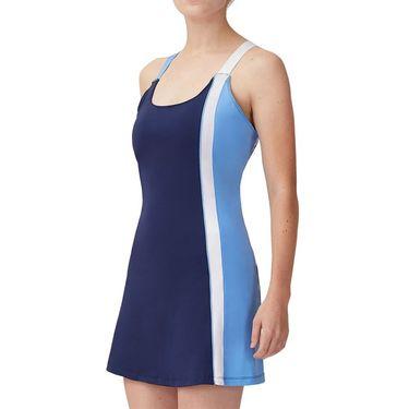 Fila 110 Year Dress Womens Navy/White/Marina TW13B172 412