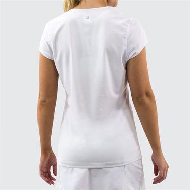 Fila Foundation Cap Sleeve Top - White