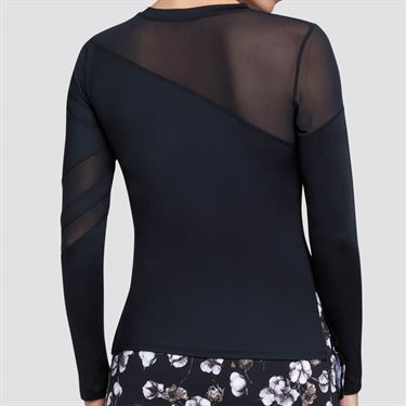 Tail Essentials Augusta Long Sleeve Top Womens Onyx TX2660 900X