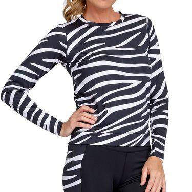 Tail Essentials Nepali Long Sleeve Pullover Womens Wild Zebra TX2878 L97X