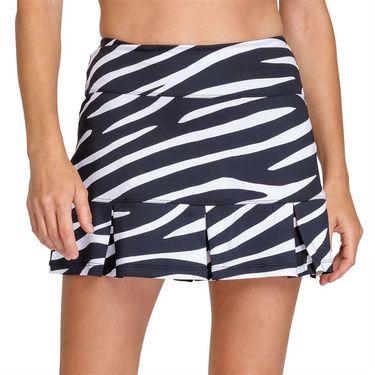 Tail Essentials Doral 14.5 inch Box Pleat Skirt Womens Wild Zebra TX6032 L97X