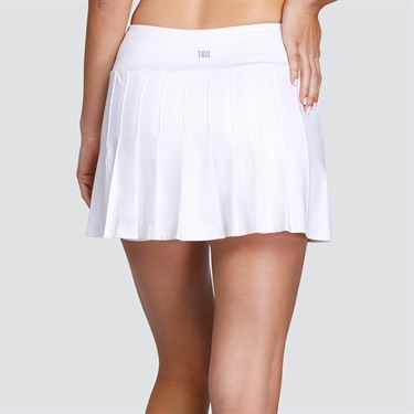 Tail Sweet Pea 13.5 inch Pleated Skirt - White