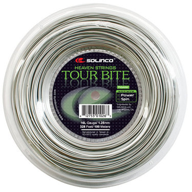 Solinco Tour Bite Tennis String Mini REEL 328 16G