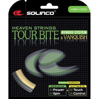 Solinco *HYBRID* Tour Bite 16L/Vanquish 16G Tennis String