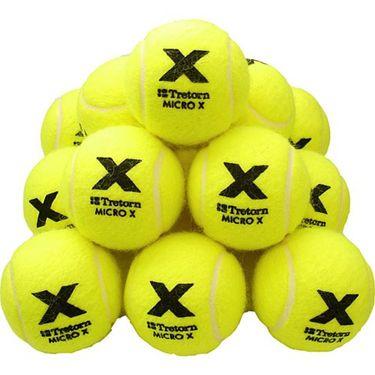 Tretorn Micro X Pressureless 72 Tennis Ball Bucket