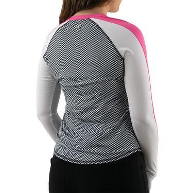 Jofit Candy UV Paneled Long Sleeve Womens Herringbone UT0024 HBN