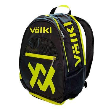Volkl Tour Tennis Backpack - Black/Neon Yellow