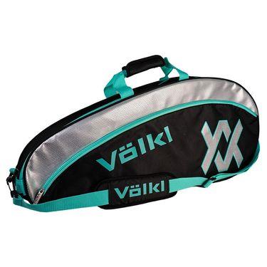 Volkl Tour Pro 2021 Tennis Bag - Black/Turquoise/Silver