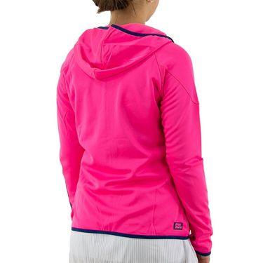 Bidi Badu Inga Tech Jacket Womens Pink/Dark Blue W194018 193