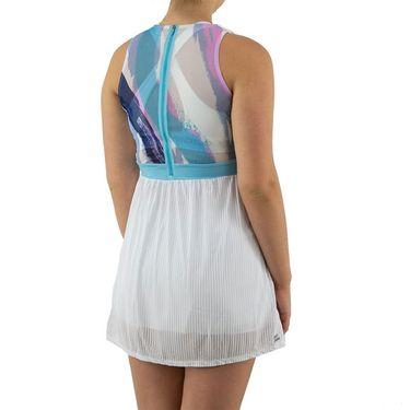 Bidi Badu Ankea Tech Dress Womens White/Aqua W214074 211