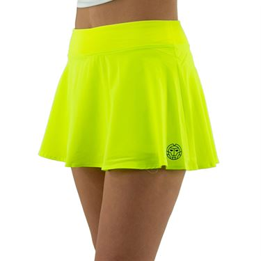 Bidi Badu Mora Tech Skirt Womens Neon Yellow W274026 203